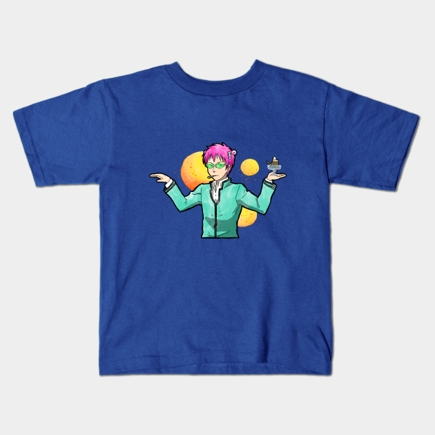 Saiki dances for Coffee Jelly - Saiki K - Kids T-Shirt ...