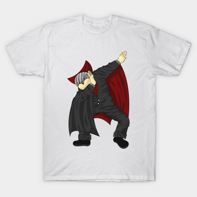 0373214a Dabbing Vampire Dracula Funny Halloween Costume - Dabbing Vampire ...