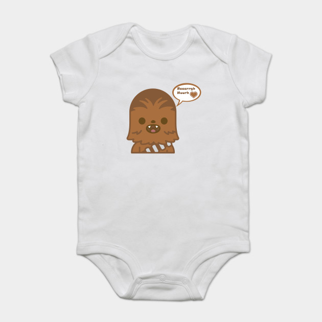 678ffc855 Baby Chewie loves you - Darth Vader - Onesie | TeePublic