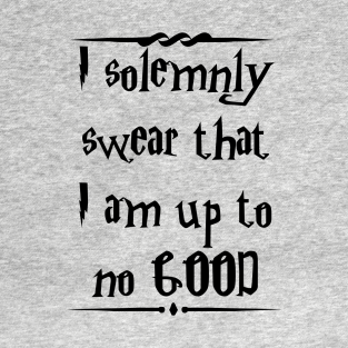 I solemnly swear...