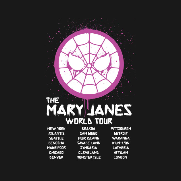 Mary Janes Tour T Shirt