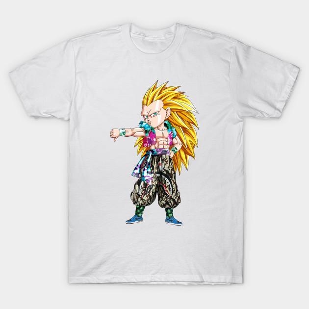 f8ac663f Gotenks SSJ3 x Bape - Dragon Ball - T-Shirt | TeePublic