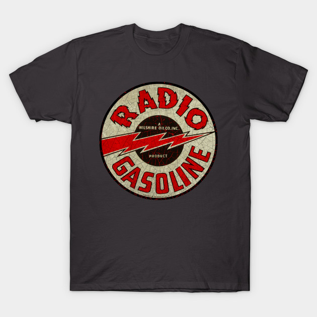 Vintage Radio Gasoline Wilshire oil Company Decal