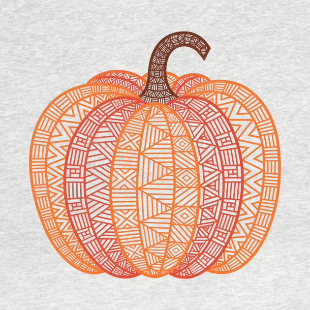 Patterned Pumpkin