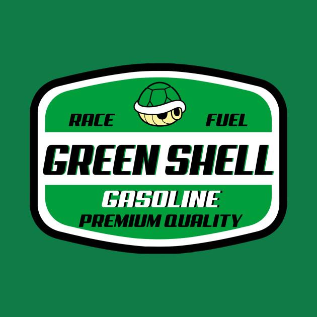 Green Shell Gasoline