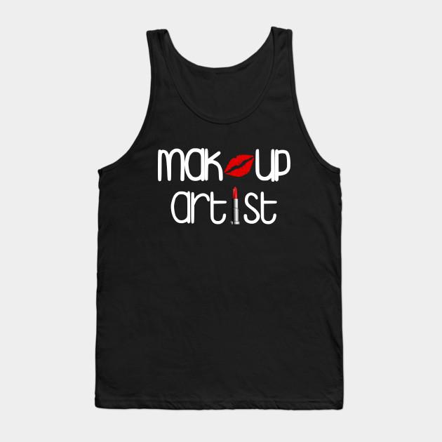 Makeup Artist Tshirt Mua Tshirts Lipstick Tees