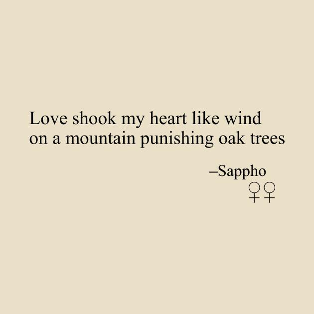 sapphic poetry