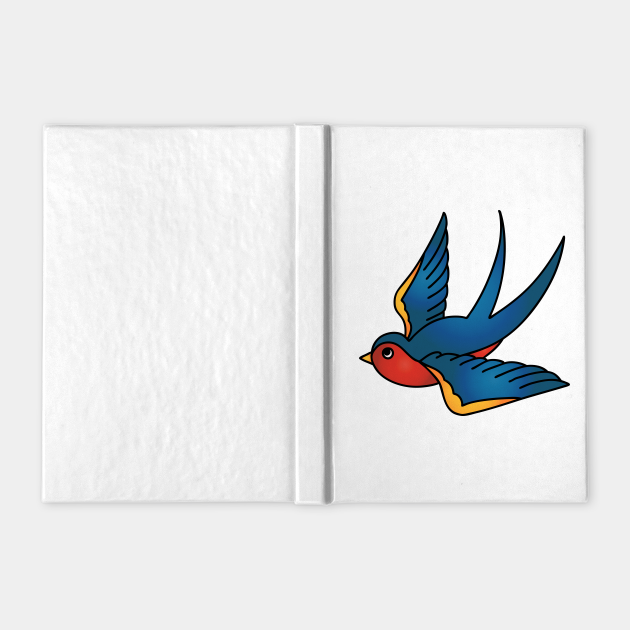 Traditional Swallow Tattoo Design