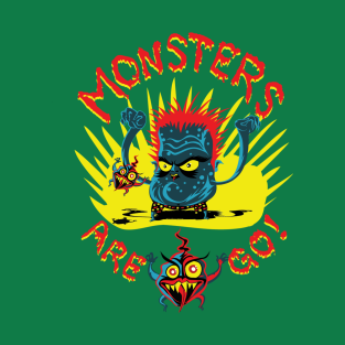 Monsters Are Go! 01 t-shirts