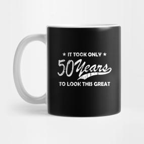 Cool 50th Birthday Vintage Gift Mug
