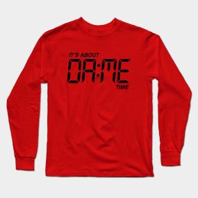 size 40 67a4a d8e92 Damian Lillard Jersey Long Sleeve T-Shirts   TeePublic