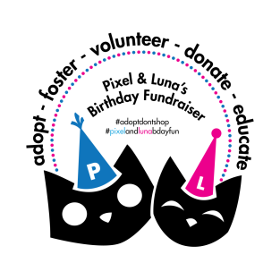 Adopt Foster Volunteer Donate Educate t-shirts