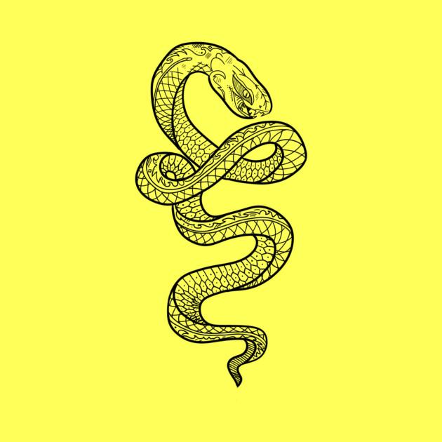 Drawing little snake / art little snake - Drawing ...