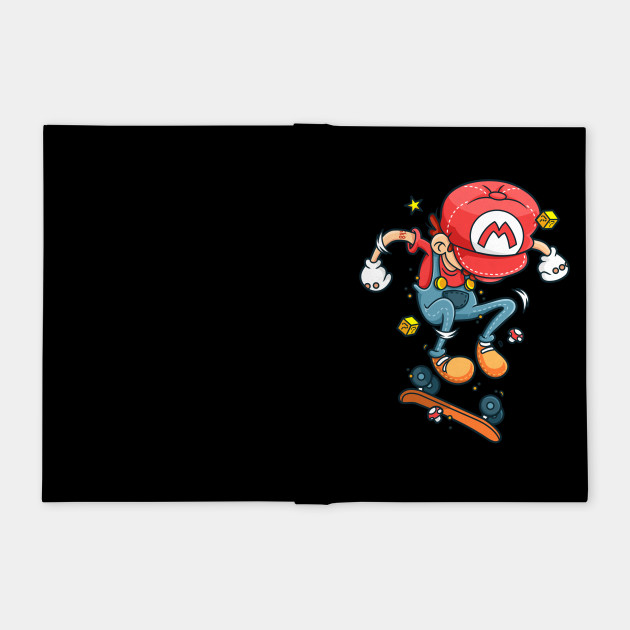 Skate Mario - Skateboarding - Notebook  c4ed23abc92