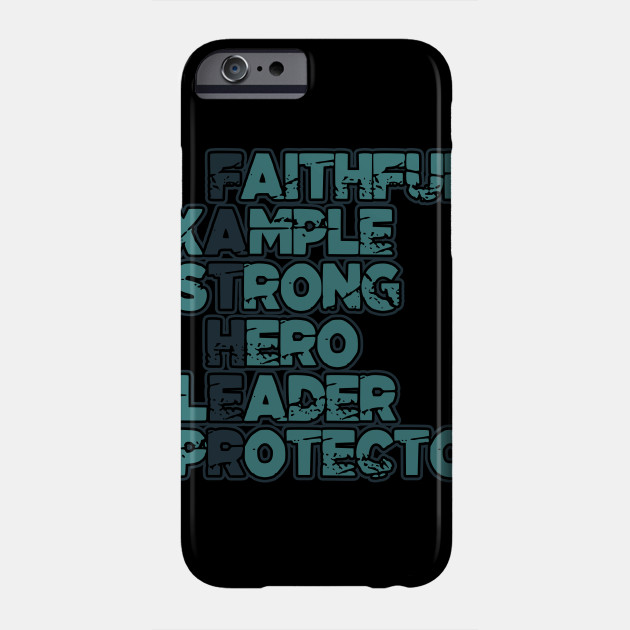 Father's Day Strong Hero Protector Daddy Gift Phone Case