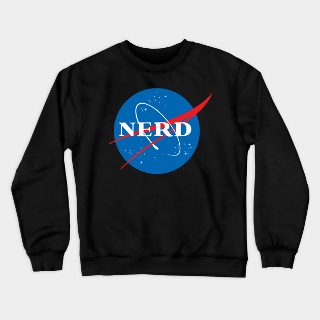 Nerd NASA Logo Geek Space Humor