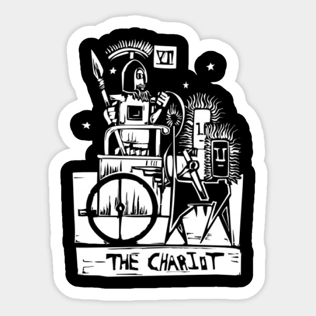 Unique Greek Chariot Tarot Rider T-Shirt
