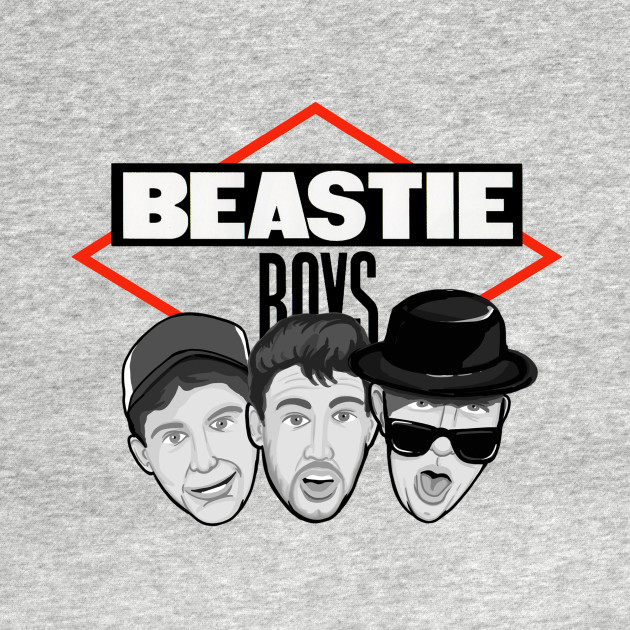 beastie boys caricature shirt