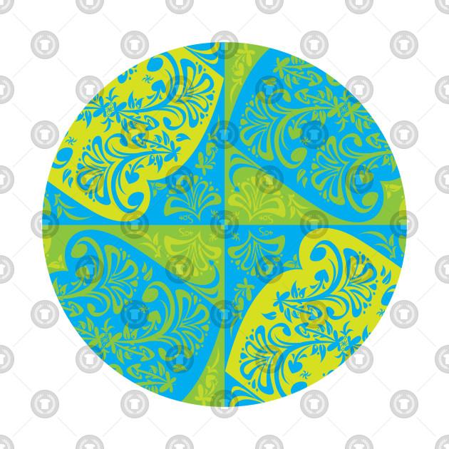Floral Motif - circular