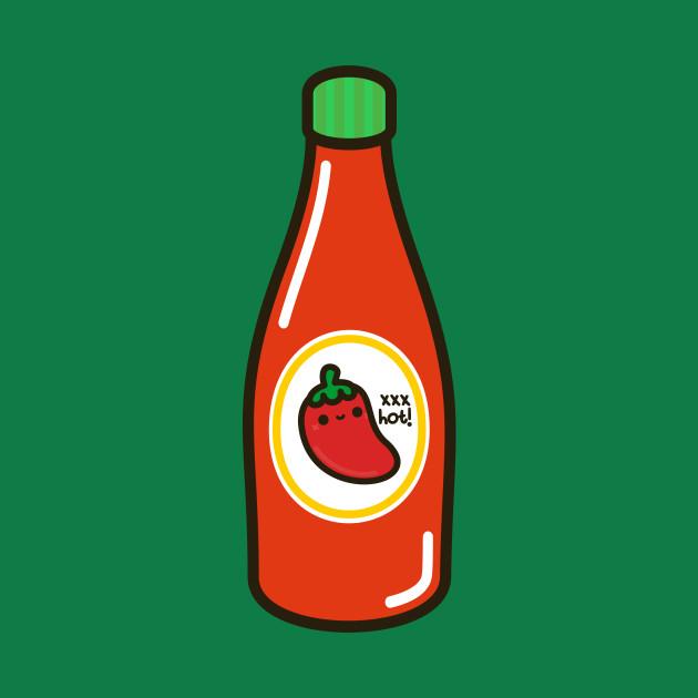 Cute yummy hot sauce