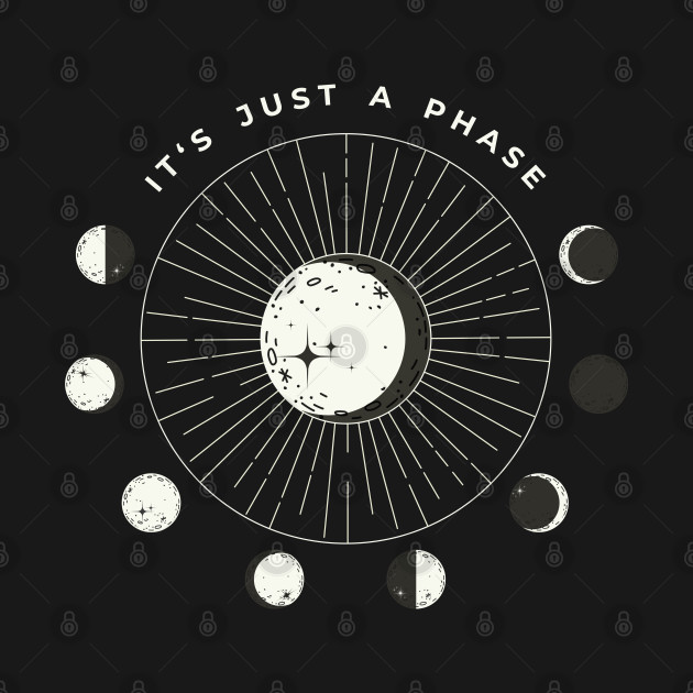 """It's Just A Phase"" Astrology Moon Circular Phase"