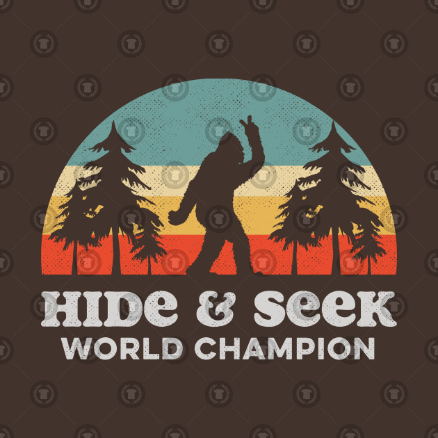 Retro Bigfoot Hide & Seek World Champion