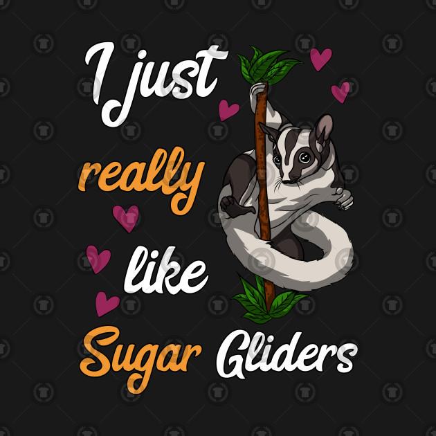 I Just Really Like Sugar Gliders Funny Pet