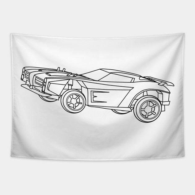 Rocket League Dominus Black Rocket League Dominus Tapestry Teepublic The dominus gt is one of the cars available in rocket league. rocket league dominus black