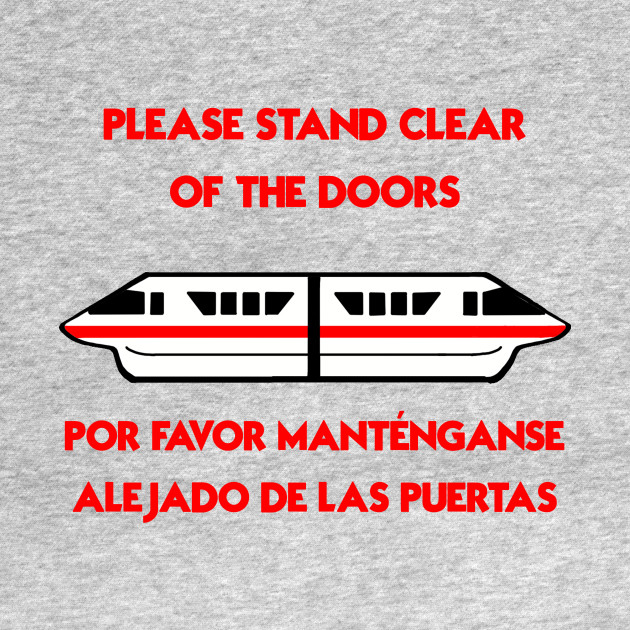 Please Stand Clear of the Door: Red