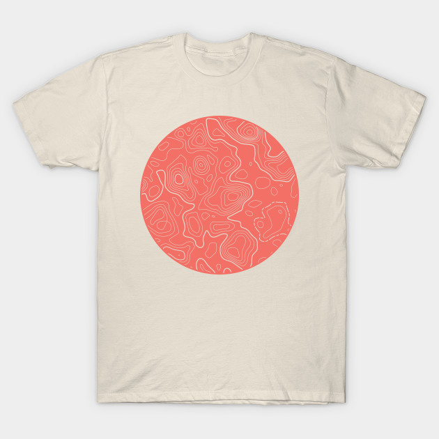 Topographic Map - Living Coral
