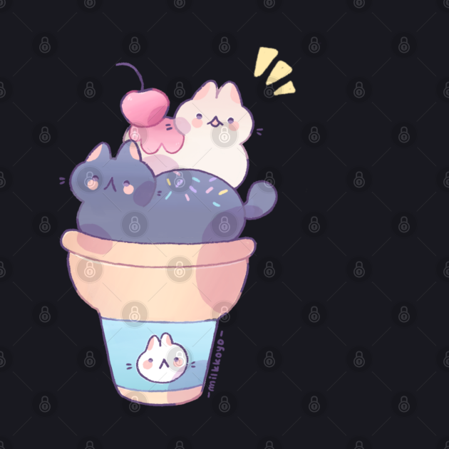 Ice cream cats