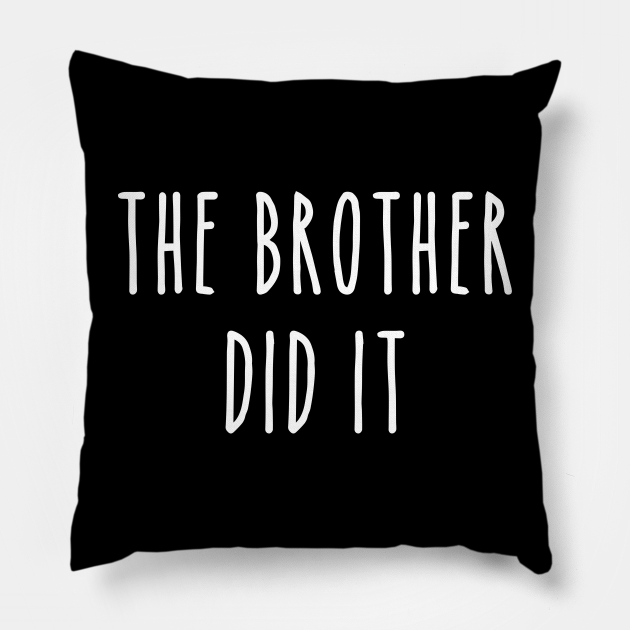 Funny True Crime The Brother Did It