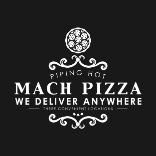 Mach Pizza t-shirts
