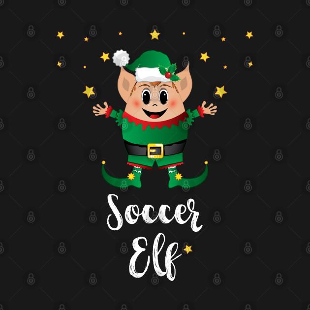 Soccer Elf Christmas Elves Xmas Matching Family Group