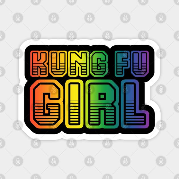 Kung Fu girl gifts