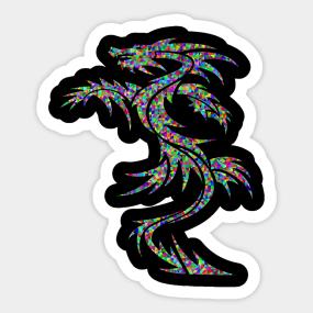 Dragon Tattoo Stickers | TeePublic