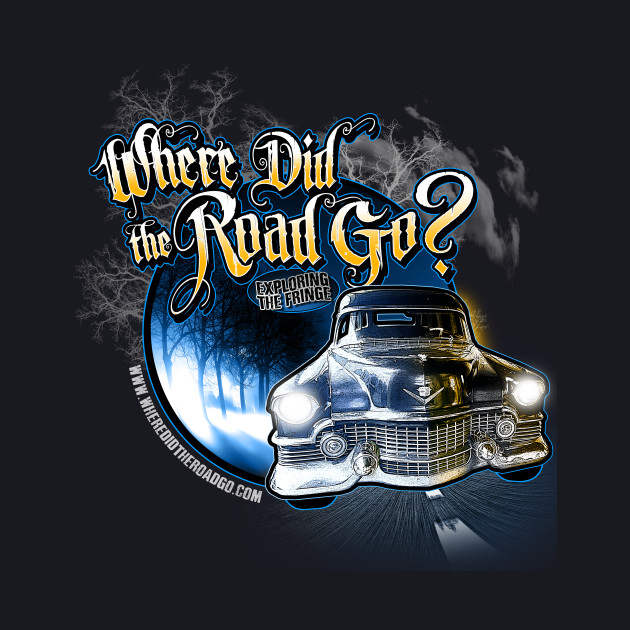 Where Did the Road Go? Car Shirt