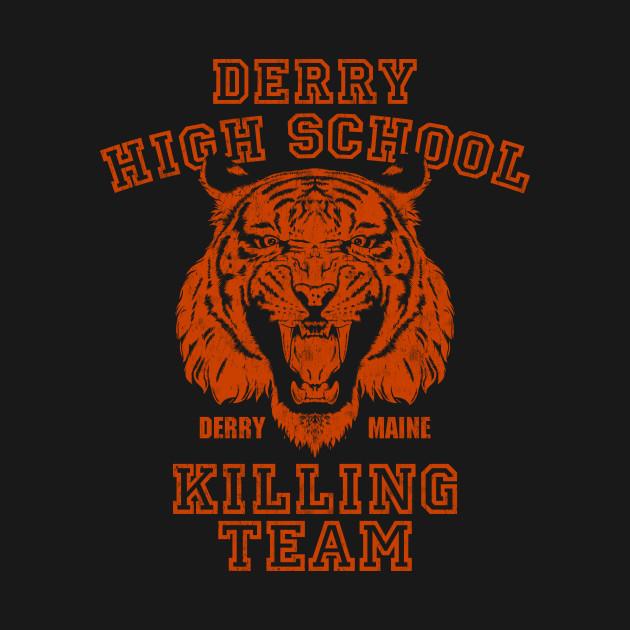 Vintage Derry Tigers Orange