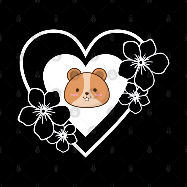 Hamster Heart Pet Animal Rodent Lover Gift