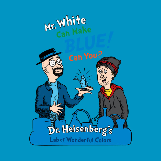 Mr. White Can Make Blue!