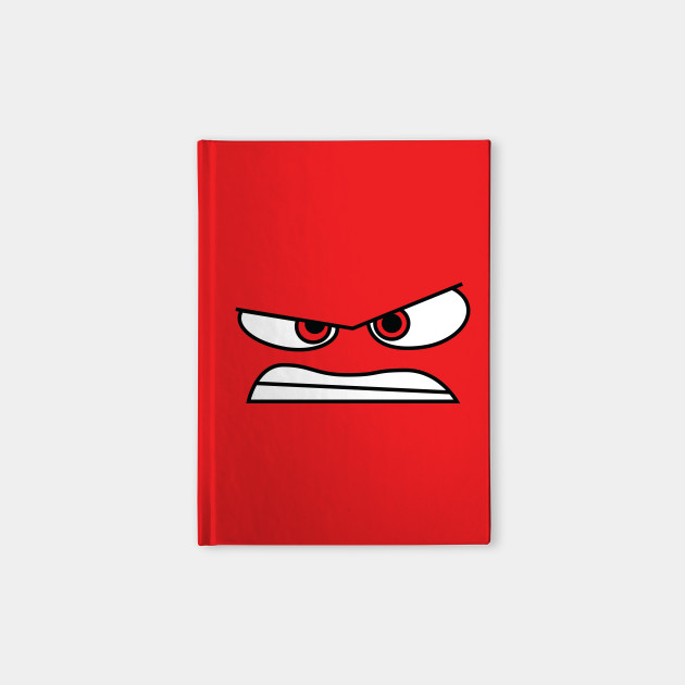 Anger (Inside Out) Face Only
