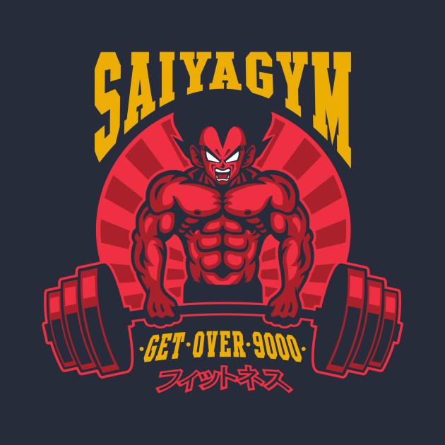 Saiyagym 9000 T-Shirt thumbnail