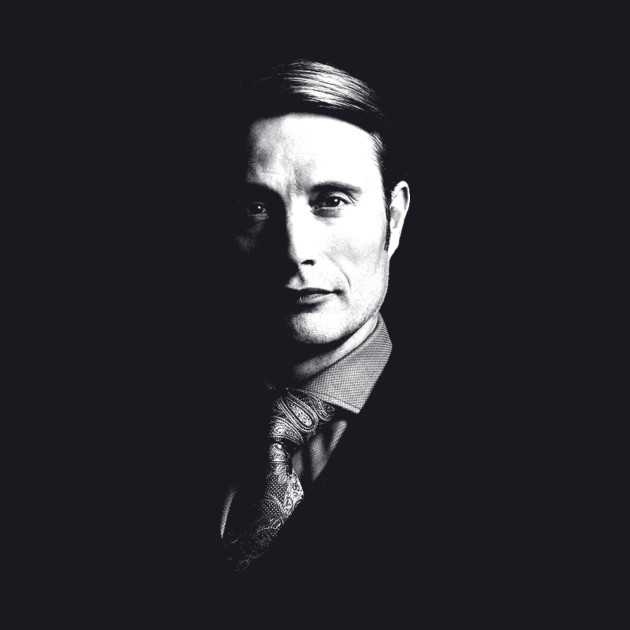 Just Hannibal's face.