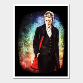 The Twelfth Doctor Posters And Art Prints Teepublic