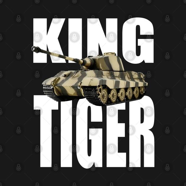 German King Tiger Tank WWII