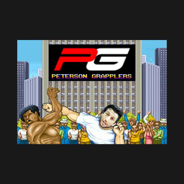 Peterson Grapplers Street Fighter T-Shirt!