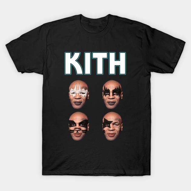 ea85be0b539d Kith - Mike Tyson Kiss parody - Kith Tyson - T-Shirt | TeePublic