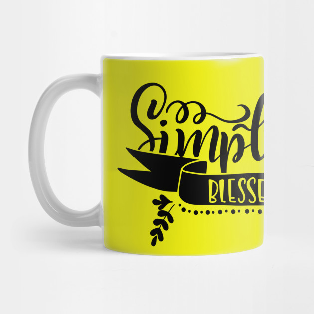 Thanksgiving Simply Blessed Gift Mug