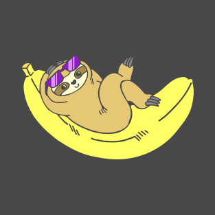 Cool Bananas Sloth t-shirts