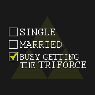 Getting the Triforce t-shirts